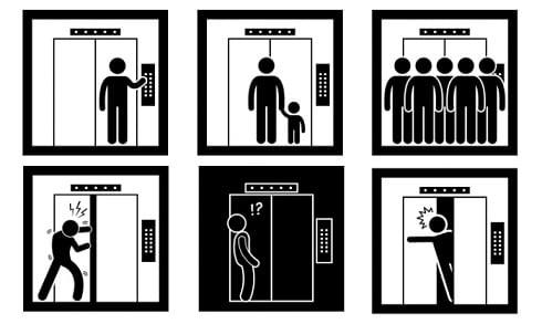 دستورالعمل های ایمنی آسانسور کارگاهی